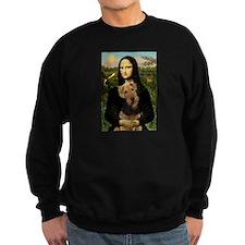 Mona Lisa - Airedale 1 Sweatshirt