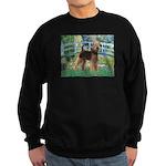 Bridge - Airedale #6 Sweatshirt (dark)
