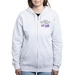 Best Birthday Present Women's Zip Hoodie
