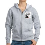 I'm so old... where are my?? Women's Zip Hoodie