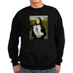 MonaLisa-AmEskimoDog Sweatshirt (dark)