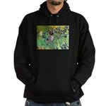 Irises-Am.Hairless T Hoodie (dark)