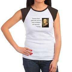 Thomas Jefferson 26 Women's Cap Sleeve T-Shirt