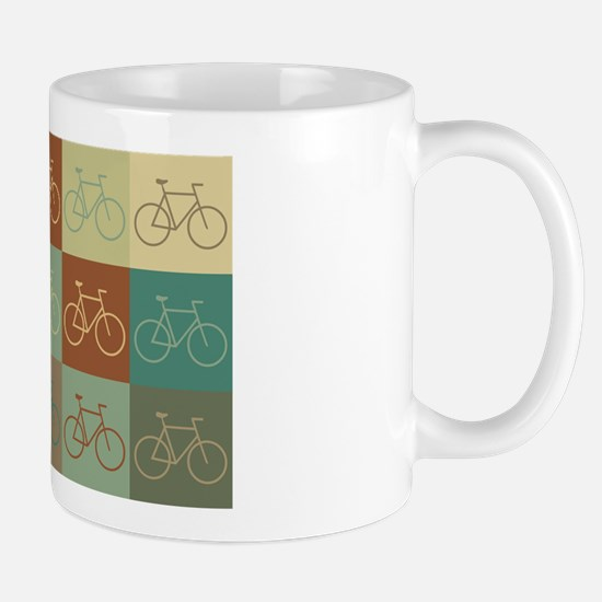 Bicycling Pop Art Mug