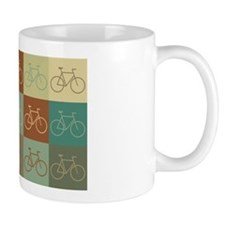 Bicycling Pop Art Small Mug