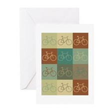 Bicycling Pop Art Greeting Cards (Pk of 20)