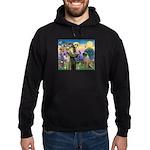 St Francis / Bullmastiff Hoodie (dark)