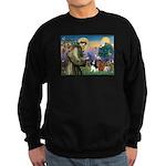 St Francis/Cavalier Trio Sweatshirt (dark)