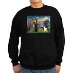 St. Francis & Collie Sweatshirt (dark)