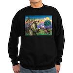 St Francis Doxie Sweatshirt (dark)