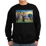 Saint Francis' Golden Sweatshirt (dark)