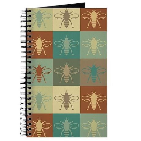 Bees Pop Art Journal