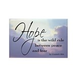 Hope, a Wild Ride - Rectangle Magnet (10 pack)