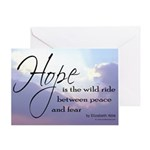Hope, a Wild Ride - Greeting Card