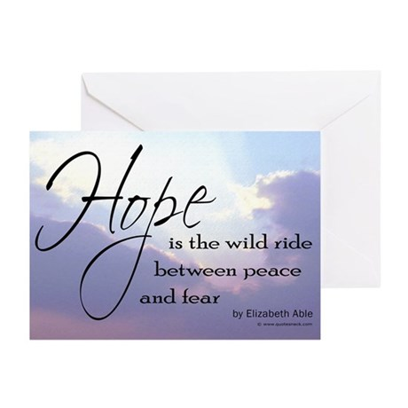 Hope, a Wild Ride - Greeting Cards (Pk of 10)
