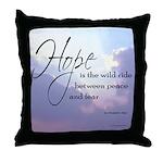 Hope, a Wild Ride - Throw Pillow