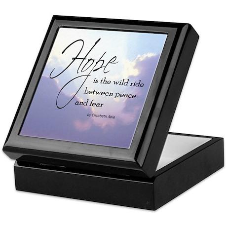 Hope, a Wild Ride - Keepsake Box