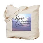 Hope, a Wild Ride - Tote Bag