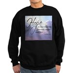 Hope, a Wild Ride - Sweatshirt (dark)