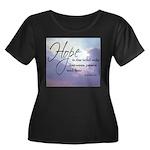 Hope, a Wild Ride - Women's Plus Size Scoop Neck D