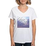 Hope, a Wild Ride - Women's V-Neck T-Shirt