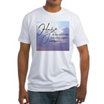 Hope, a Wild Ride - Fitted T-Shirt
