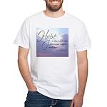 Hope, a Wild Ride - White T-Shirt