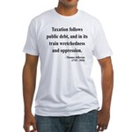 Thomas Jefferson 26 Fitted T-Shirt