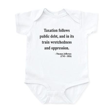 Thomas Jefferson 26 Infant Bodysuit
