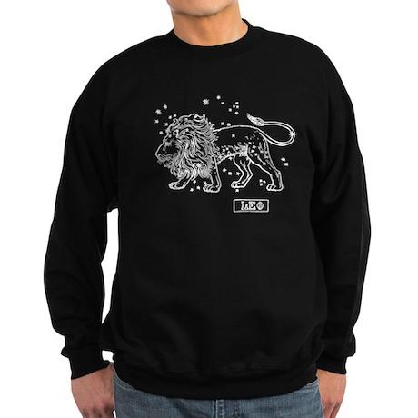 Leo (Celestial) Zodiac Sweatshirt (dark)