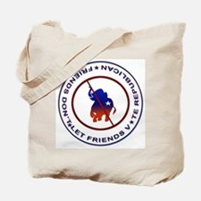 Anti Republican Tote Bag