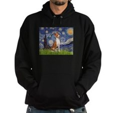 Starry Night & Basenji Hoody