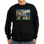 Saint Francis / Beagle Sweatshirt (dark)