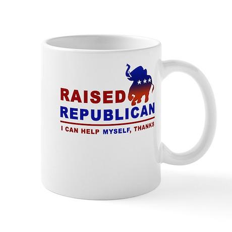 Raised Republican Mug