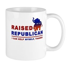 Raised Republican Mug