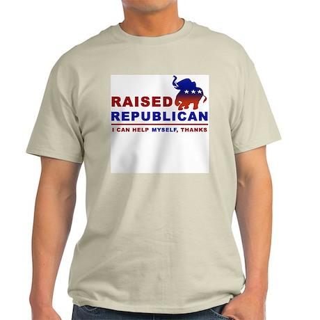 Raised Republican Light T-Shirt