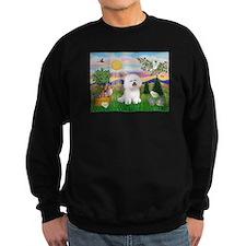 Easter Bichon Frise Jumper Sweater