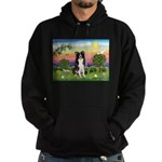 Bright Country/Border Collie Hoodie (dark)