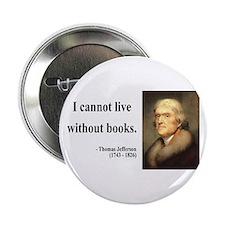 """Thomas Jefferson 27 2.25"""" Button"""