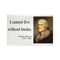 Thomas Jefferson 27 Rectangle Magnet (10 pack)