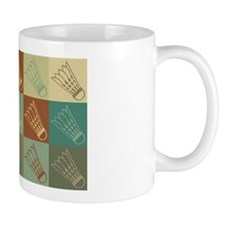 Badminton Pop Art Mug