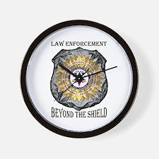 Beyond the Shield Wall Clock