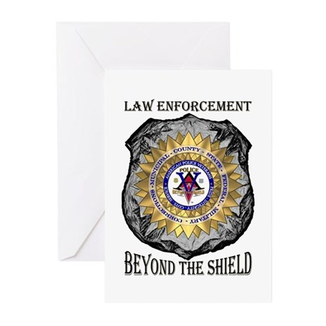Beyond the Shield Greeting Cards (Pk of 10)