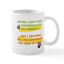 Making a Difference Small Mug