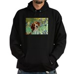 Irises & Beagle Hoodie (dark)