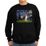 Starry Night & Beagle Sweatshirt (dark)