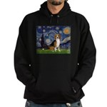 Starry Night & Beagle Hoodie (dark)