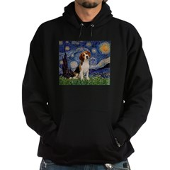 Starry Night / Beagle Hoodie (dark)