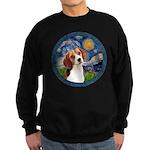 Starry Night Beagle #1 Sweatshirt (dark)