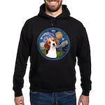Starry Night Beagle #1 Hoodie (dark)